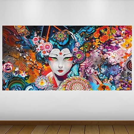 LagunaProject Extra Grande Blanca del Geisha de Japón Vinilo ...