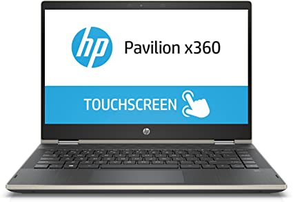 HP Pavilion x360 Core i5 8th gen 14-inch Touchscreen 2-in-1 Thin and Light  Laptop (8GB/256GB SSD/Windows 10 Home/Pale Gold/1 67 Kg), 14-CD0081TU