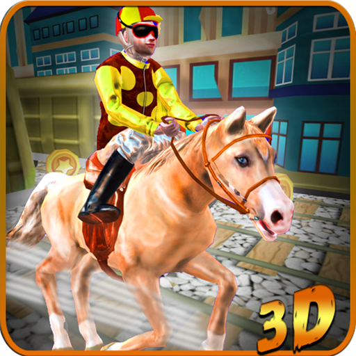 Derby Quest Real Horse Racing Game 3D:  Extreme Frenzy Subway Run Jumping Adventure Simulator 2018