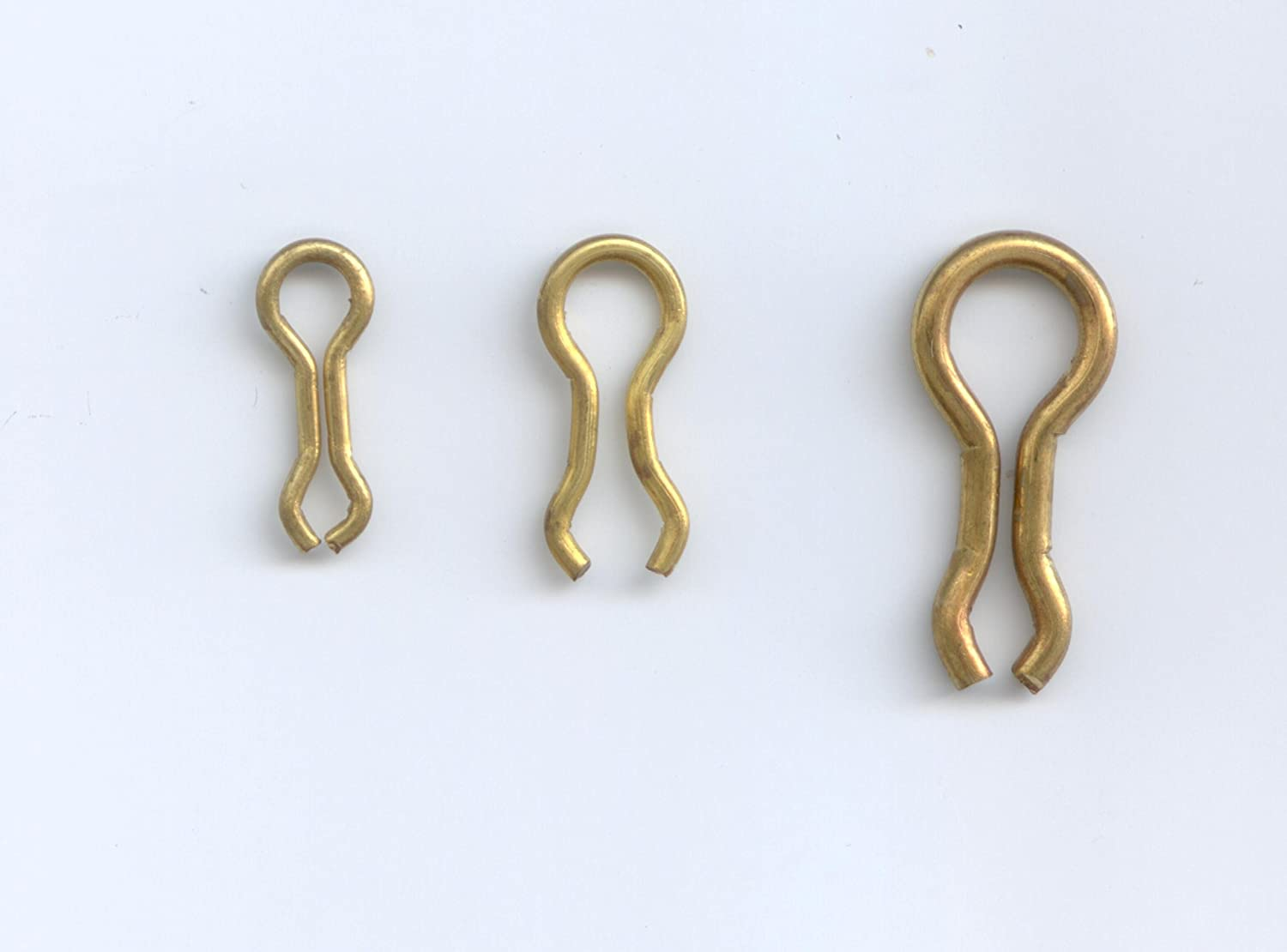#3 BRASS SINKER WIRE EYE FOR THE DO-IT MOLDS 100 PER PACK BY S & J's TACKLE BOX 81SfOWZoEzL