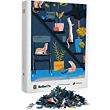 BetterCo. - Weasel Plant Care Puzzle 1000 Piece - Difficult Jigsaw Puzzles 1000 Pieces - Challenge Yourself with 1000 Piece P