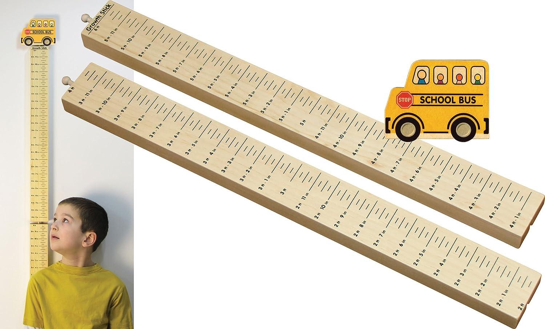 Growth B000NJ5U5S Stick with School Busトッパー – School Made in in USA B000NJ5U5S, くぅ散歩:d665592b --- ijpba.info