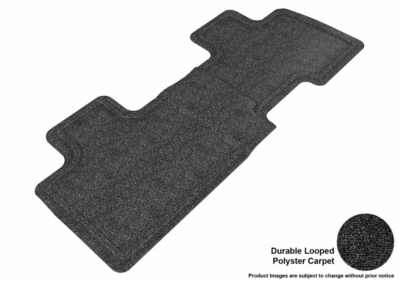Classic Carpet L1FR02002209 3D MAXpider Complete Set Custom Fit Floor Mat for Select Ford Edge Models Black