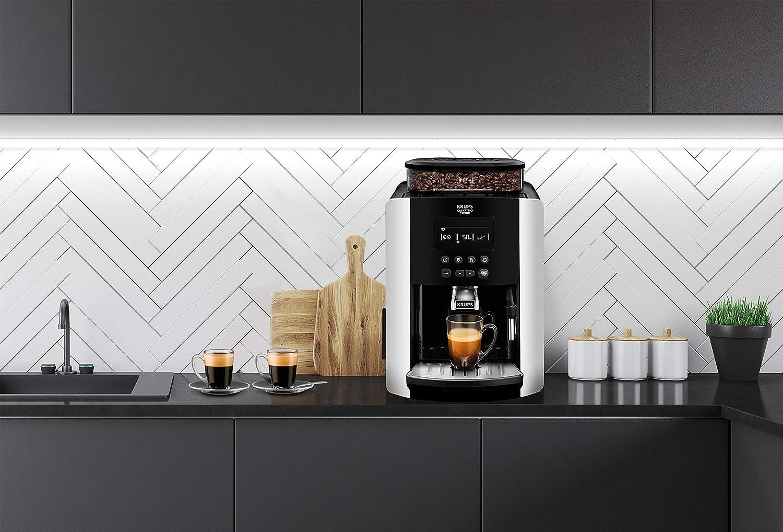 Máquina Café Espresso Automática Plata Krups