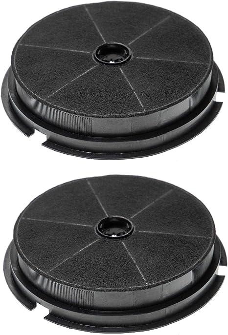 vhbw 2x Filtro de carbon activado compatible con Hotpoint Ariston 7HSL 6PWH, AE 60 GY, AE 80 GY, AE 90 GY, AG 60 TX, AH 50 TX Campana extractora: Amazon.es: Grandes electrodomésticos