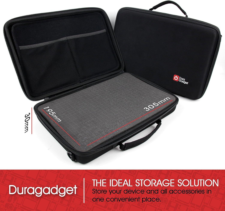 Compatible with The Panasonic ES-RF41 ES-RT67-S503 DURAGADGET Black EVA Storage Case with Fully-Customizable /& Shock-Absorbing D.I.Y Foam Interior ES-RL21