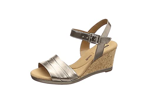10445aebf7a Clarks Women s s Lafley Aletha Ankle Strap Sandals  Amazon.co.uk ...