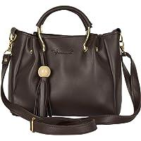 Vanilla by Monci Coffee Brown Sling Bag| Hand Bag| Bridal Bag| Bag for Girls| Bag for Women| Cross Bag| Side Bag for Girls