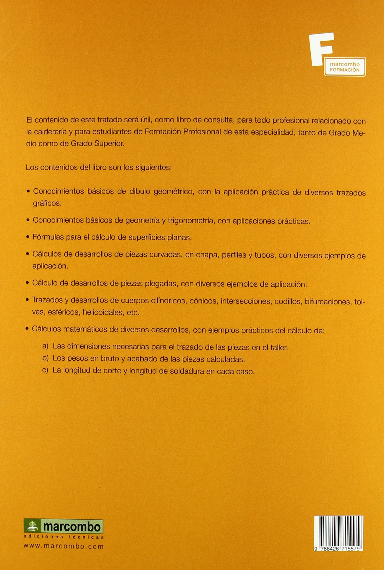 Tratado de trazados y desarrollos de Calderer�a: EMILIO DÍAZ DÍAZ: 9788426715579: Amazon.com: Books