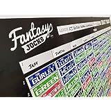 2018 Fantasy Football Draft Board Kit - 10 Team