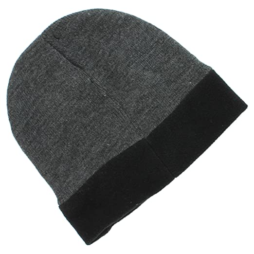 Van Heusen Gray Fleece-Lined Beanie for Men - One Size at Amazon ... 9b80721a9f9