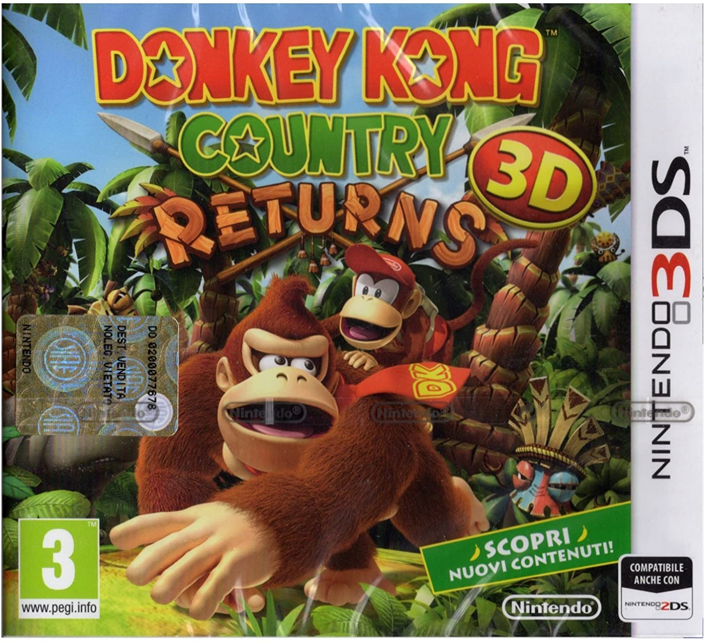Donkey Kong Country Returns (3ds): Amazon.es: Videojuegos