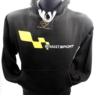 Sudadera Renault Esport, Fabricada Y ELABORADA EN ESPAÑA, Calidad ...