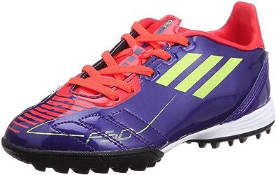 los angeles d4bc8 cb104 Adidas F10 TRX TF J G40280 Fußballschuhe lilaorangeneon, SchuhgrößeEUR