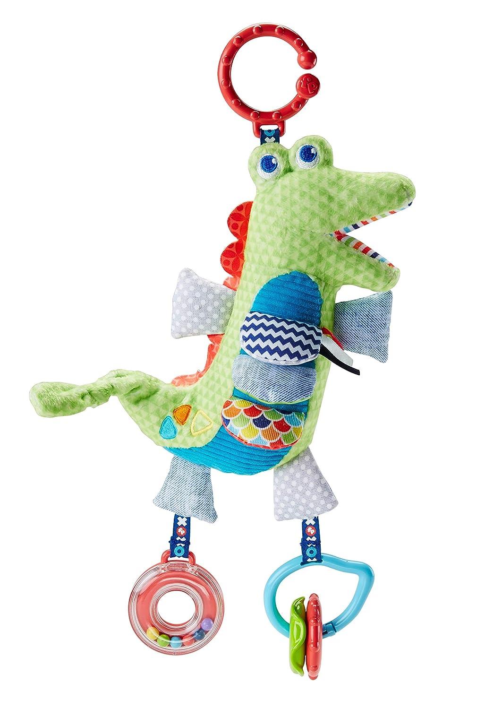 Fisher-Price Cocodrilo activity, juguete colgante para bebé recién nacido (Mattel FDC57) juguete colgante para bebé recién nacido (Mattel FDC57)