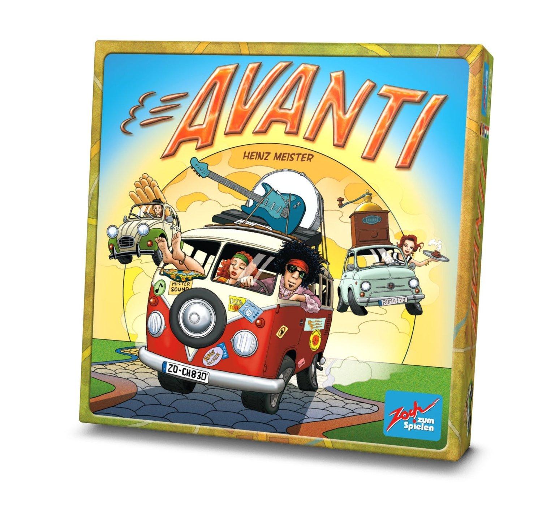 Zoch 601130800 - Avanti, Familienspiel