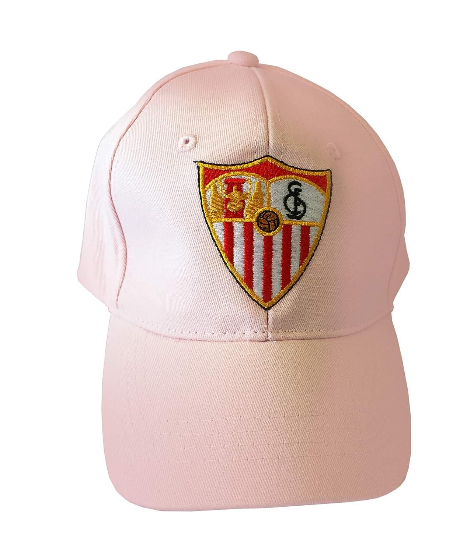 Sevilla CF 06GOR15-01 Gorra, Blanco, Talla Única: Amazon.es ...