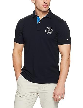 e8e8c78a2ac2 Tommy Hilfiger Men s Solid Badge Regular Polo