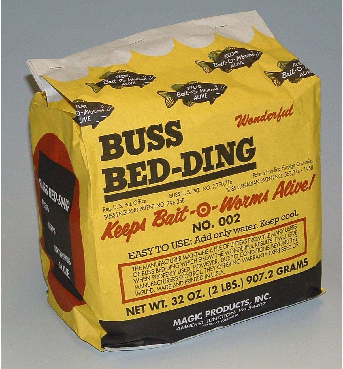 Magic Bait 2-Pound Buss Bedding Bag, Yellow
