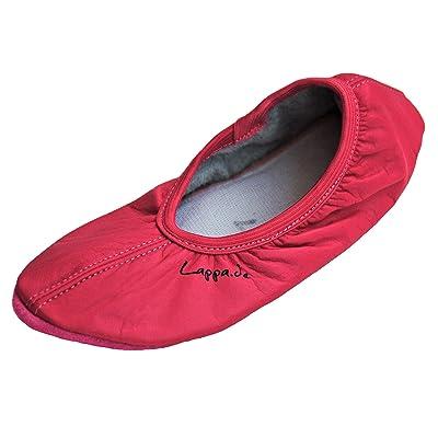 207 Chaussures, chaussure, Ballet, turnschläppchen, Danse avec ledersohle. gr. 28-44 rose vif