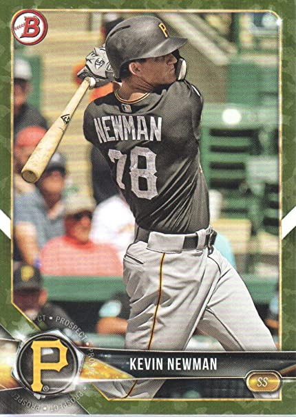 low priced 4db0f 1ed72 2018 Bowman Baseball Prospects Camo #BP17 Kevin Newman ...
