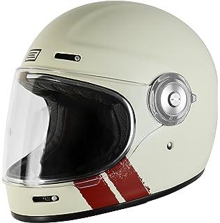 Origine Vega - Casco integral de fibra de vidrio, estilo Café Racer, vintage XS