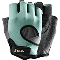 Glofit FREEDOM Workout Gloves, Knuckle Weight Lifting Shorty Fingerless Gloves with Curved Open Back, for Powerlifting…