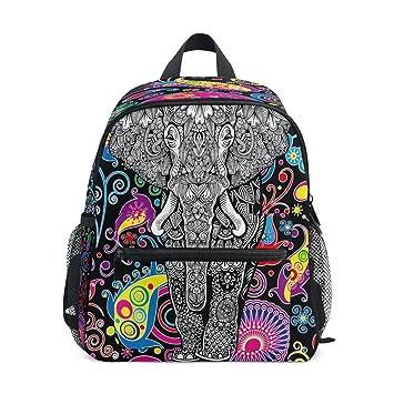 3c96658752d ZZKKO Cute Magic Unicorn Kids Backpack School Book Bag for Toddler Boys  Girls