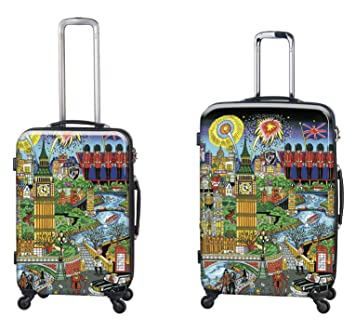 Equipaje, Maletas y Bolsas de Viaje - Premium Designer Maleta Rígida Set 2 Piezas -