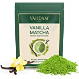 Vanilla + Matcha Green Tea Powder - Brew Delicious Vanilla Matcha Latte | Powerful SUPERFOODS Blend | Pure Japanese…