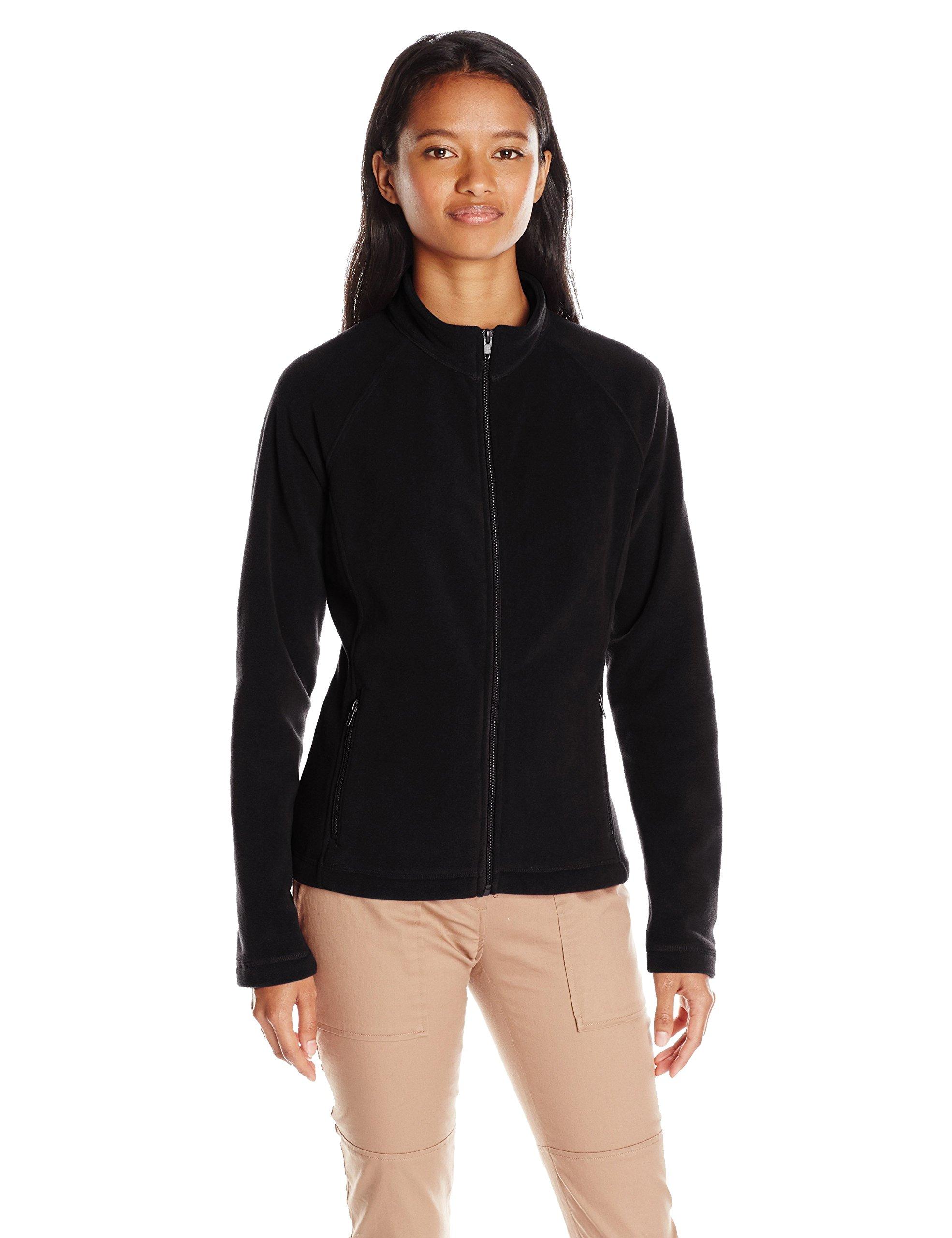 Classroom Uniforms Junior Fitted Polar Fleece Jacket, Black, Large