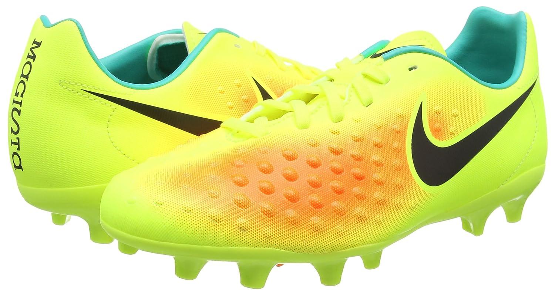 TG. 38 EU Nike Magista Opus II FG Scarpe da Calcio Unisex bambini Giallo