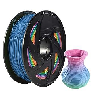 Amazon.com: PLA 3D Printer Rainbow Multicolor Filamento ...
