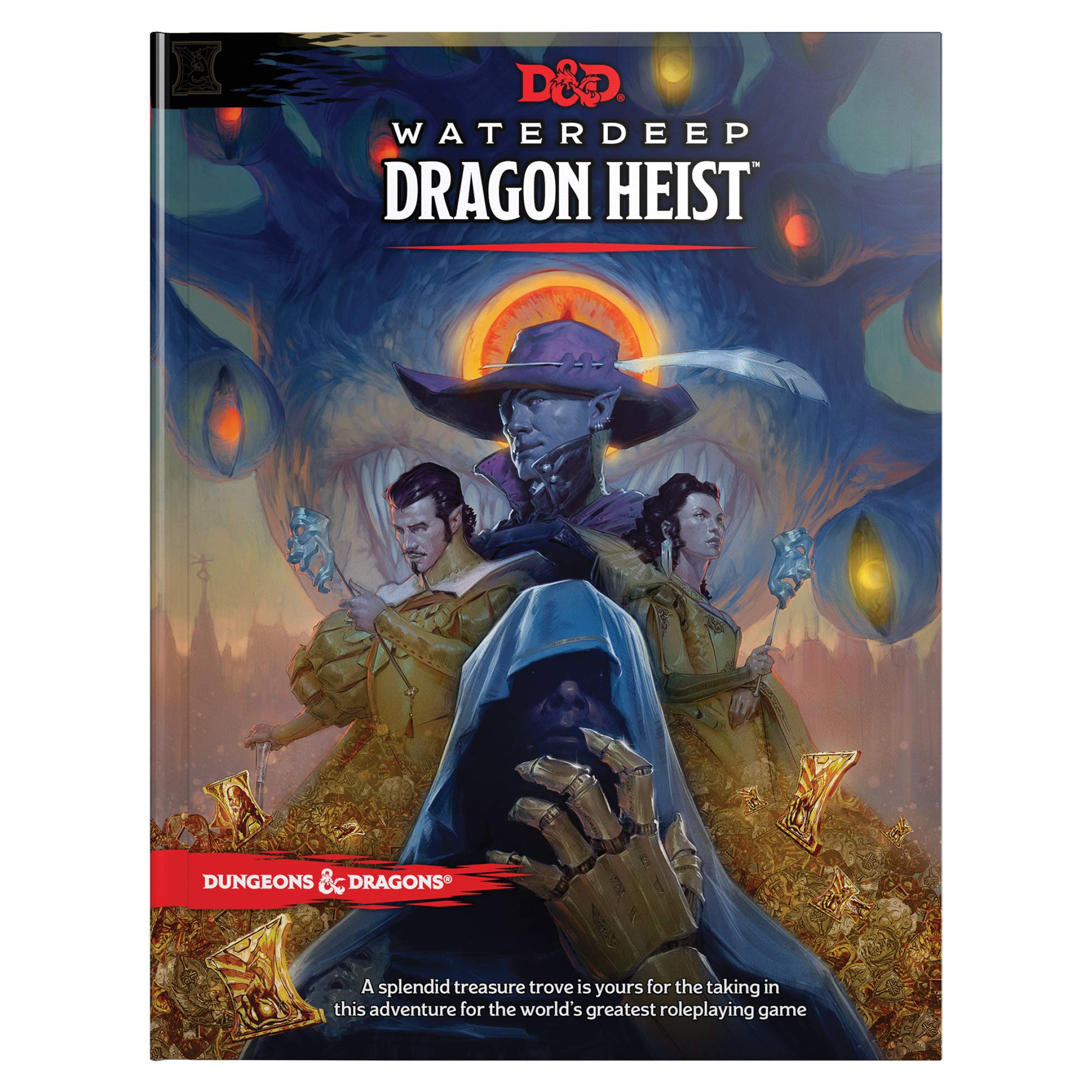 D&D Waterdeep Dragon Heist HC (Dungeons & Dragons) by Hasbro