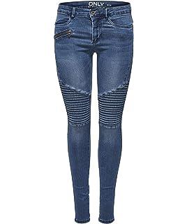 ONLY Damen Jeans Leggings onlROYAL REG SK Ankle Race PIM 403 Biker ... cfd7ef7276