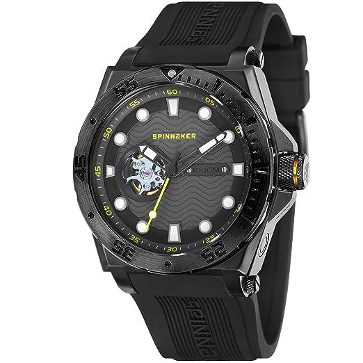 Reloj Hombre - Spinnaker - Gama Pro Diver - overboat - automático - 43 mm - 1000 Metros - sp-5023 - 0 G: Amazon.es: Relojes