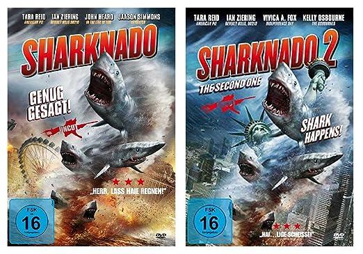 Sharknado 1+2 Das Hailight des Jahres Alemania DVD: Amazon.es ...