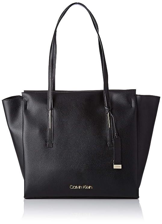 Calvin Klein Jeans - Frame Large Shopper, Shoppers y bolsos de hombro Mujer, Negro (Black), 14x30x40 cm (B x H T)
