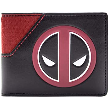 Cartera de Marvel Deadpool Logotipo de la cara Multicolor: Amazon.es: Equipaje
