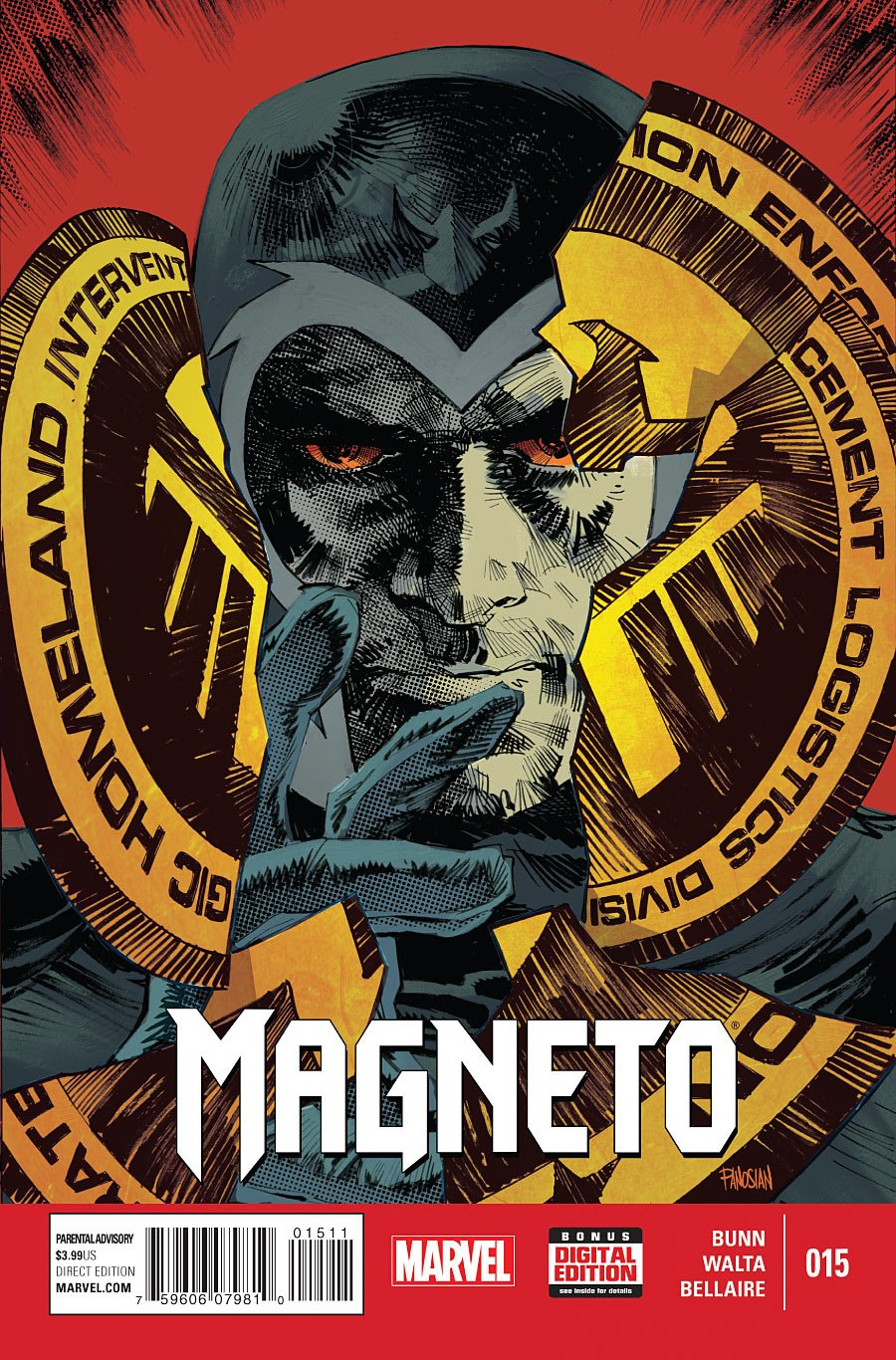 Read Online Magneto #15 pdf