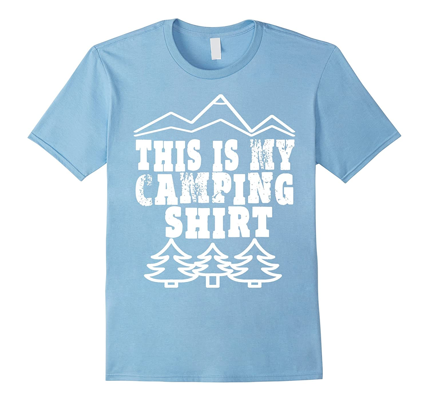 This Is My Camping T-Shirt Funny Camping Gift Happy Camper-BN