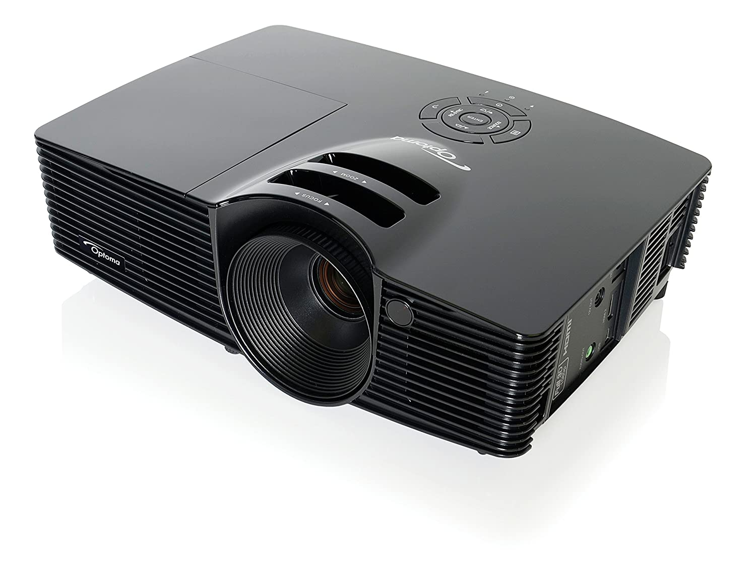 1. Optoma HD141X 1080p 3D DLP Home Theater Projector