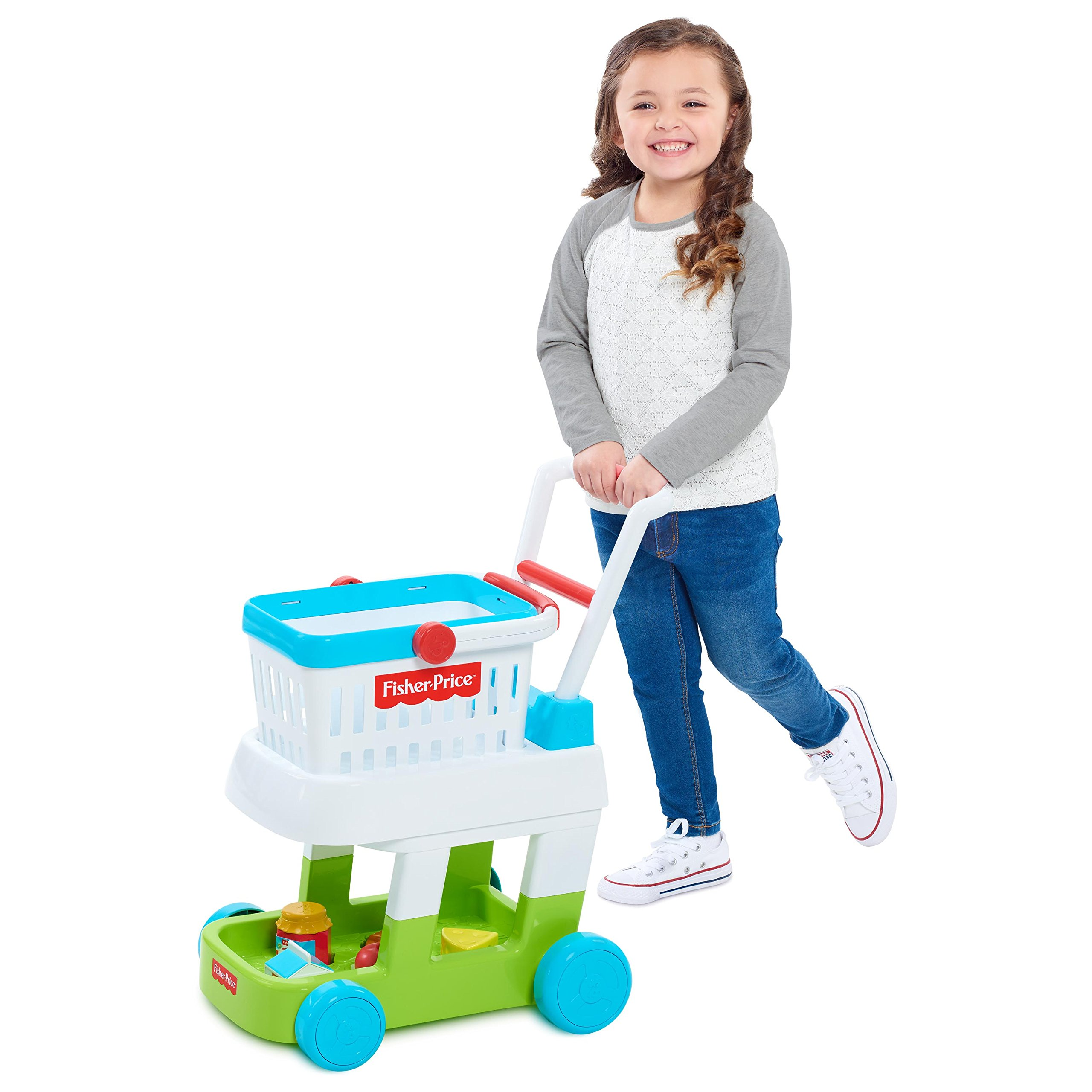 Fisher-Price 93525 Shopping Cart Toys, Multicolor by Fisher-Price (Image #2)