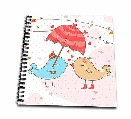 Diseños Dooni diseños día de San Valentín y amor – para San Valentín Love pájaros besándose
