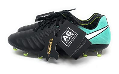 sale retailer 817d3 c43b4 Amazon.com | Nike Tiempo Legend Elite VII AG Acc Black/Aqua ...