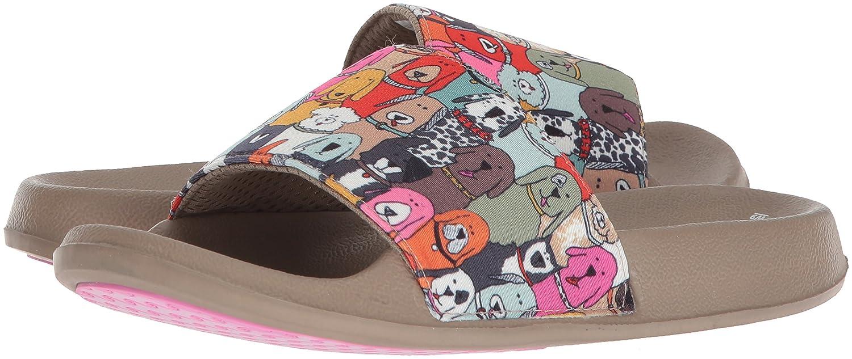 668638799 Amazon.com | Skechers BOBS Women's Pop Ups-Doggie Paddle Slide Sandal |  Slides