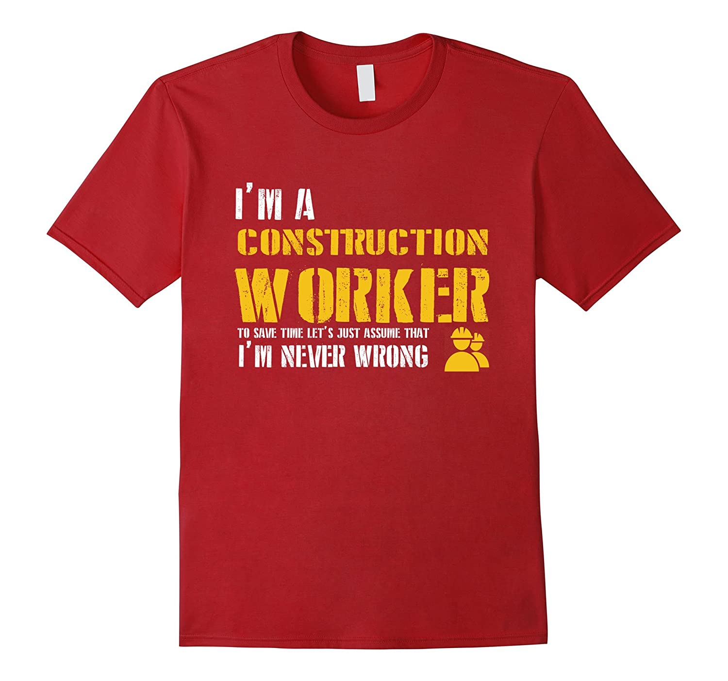 3158f820ce Construction Worker Shirt - Funny Construction Worker Gifts-TH ...