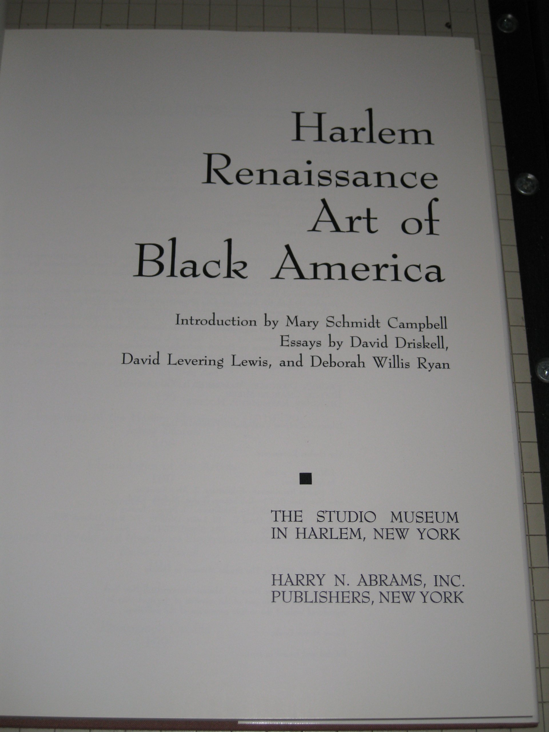 harlem renaissance art of black america david c driskell david harlem renaissance art of black america david c driskell david levering lewis deborah willis ryan mary schmidt campbell david levering david diskell