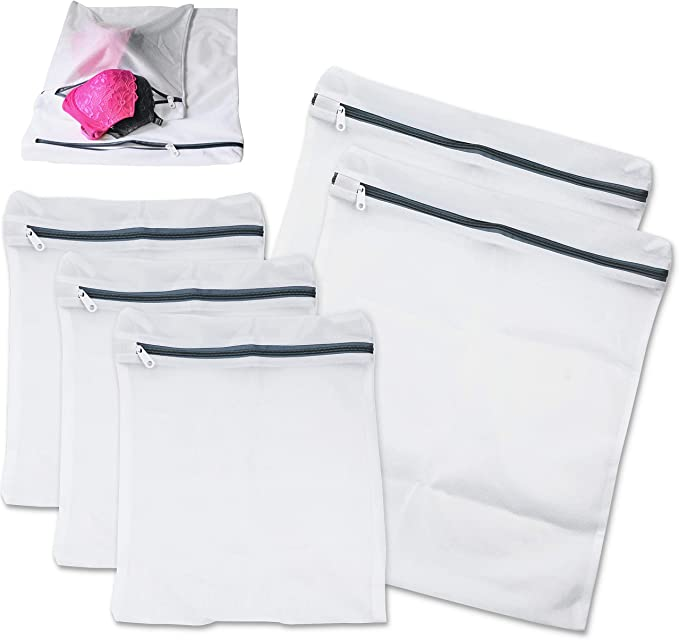 2-Pack Garment Storage Bag 13 W x 18 D x 8 H made of Polyester blend Real Simple