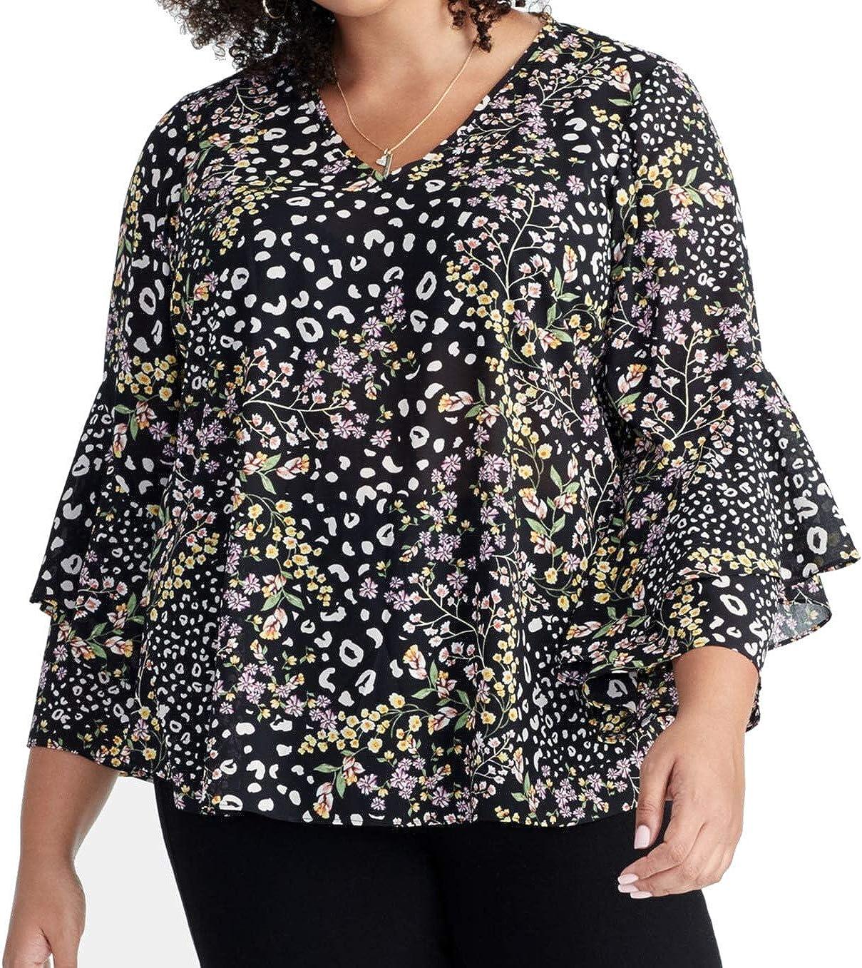 Las Vegas Mall RACHEL Rachel Roy Women's Iris Plus Size Blouse free